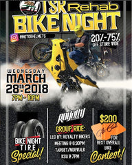 Motorhelmets Bike Night March 2018 - TSR Rehab Event