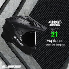 LS2 Motorcycle Helmets 2021 | Introducing the EXPLORER C MX701 Adventure Collection