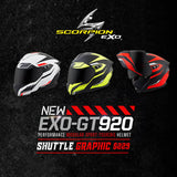 Scorpion EXO-GT920 Performance Modular Sports Helmets