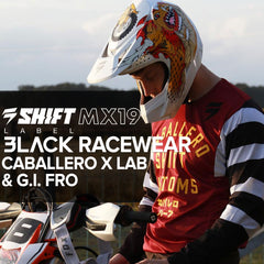 Shift Racing MX 2019 | Black Label Caballero X Lab & G.I. Fro Racewear