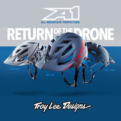 Troy Lee Designs A1 Drone | Cross Country Mountain Bike Helmets