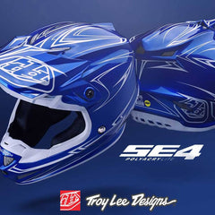 Troy Lee Designs MX | 2018 SE4 Polyacrylite Motocross Helmets