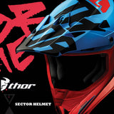Thor MX 2017 | All New Sector Motocross Helmets