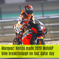 Marquez: Honda made 2020 MotoGP bike breakthrough on last Qatar day