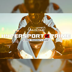 Icon Street Racing Hypersport2 Prime | 2020 Protective Gear