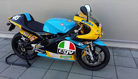 The Aprilia RS 125 in 1996 World Championship