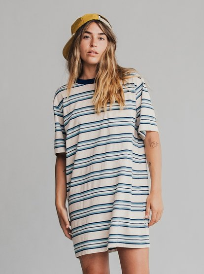 Quiksilver Womens - Short Sleeve T-shirt Dress