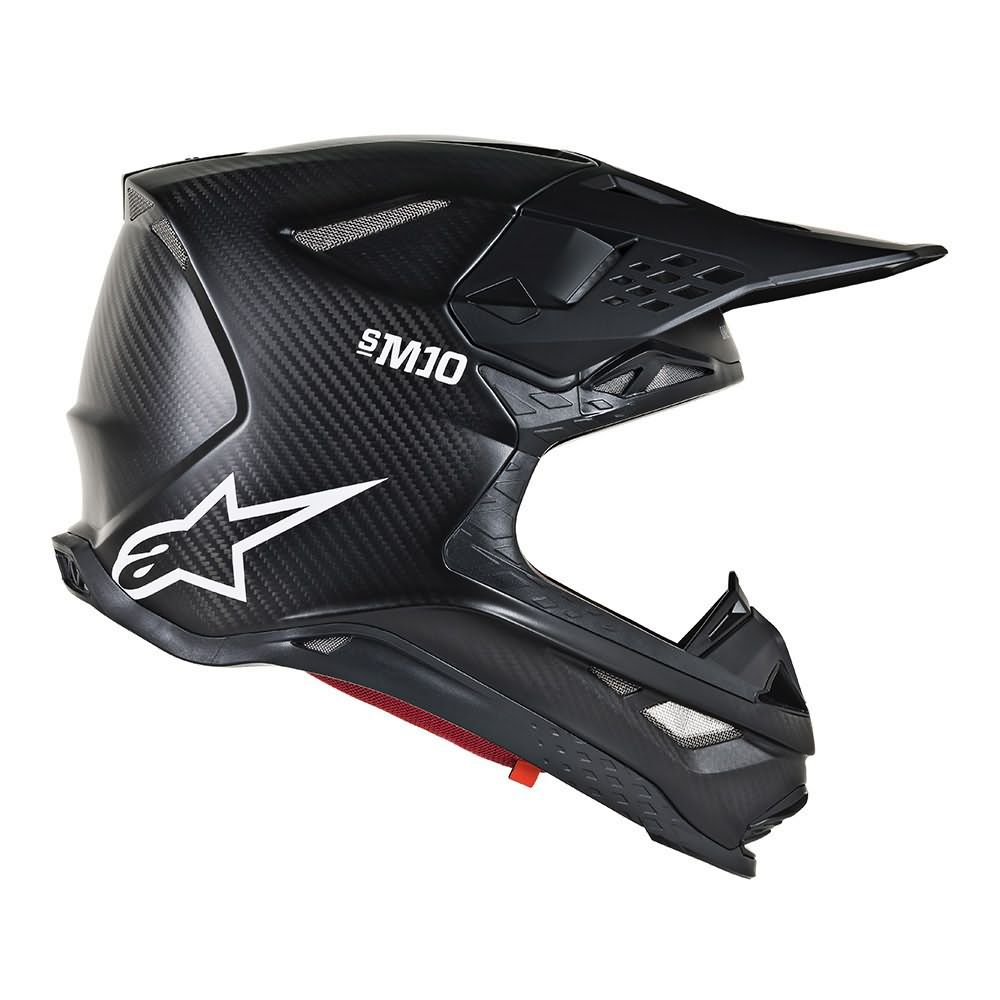 Black Matte Carbon Helmet-Side Right View