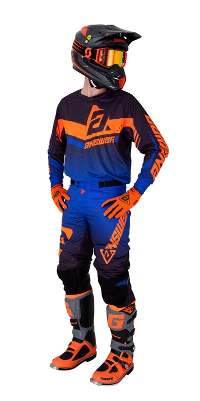 Trinity Black/Cobalt/Flo Orange | Gear Sets
