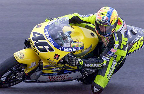 Rossi when driving a Honda in 2000. (Photo: Tortsen Blackwood)