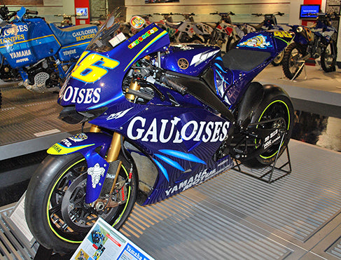 Yamaha YZR-M1 used by Rossi in the 2004 season
