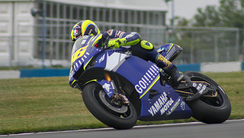 Rossi at the 2005 British Grand Prix