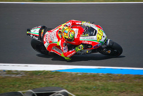 Rossi at the 2012 Australian Grand Prix