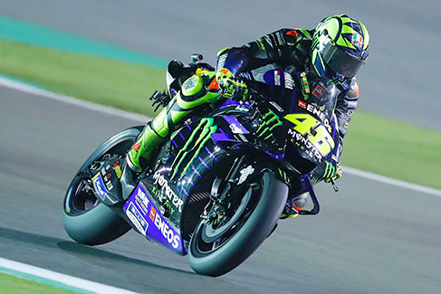 Rossi Beats Dovi At Qatar After First Lap