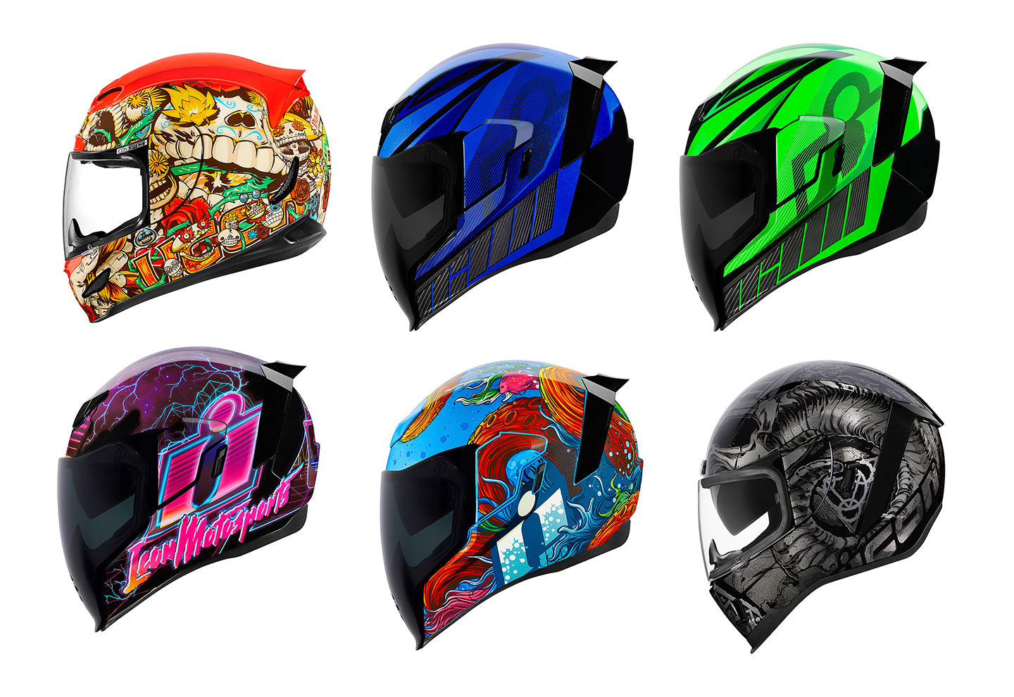 Icon Spring 2019 | Motorcycle Helmet Collection
