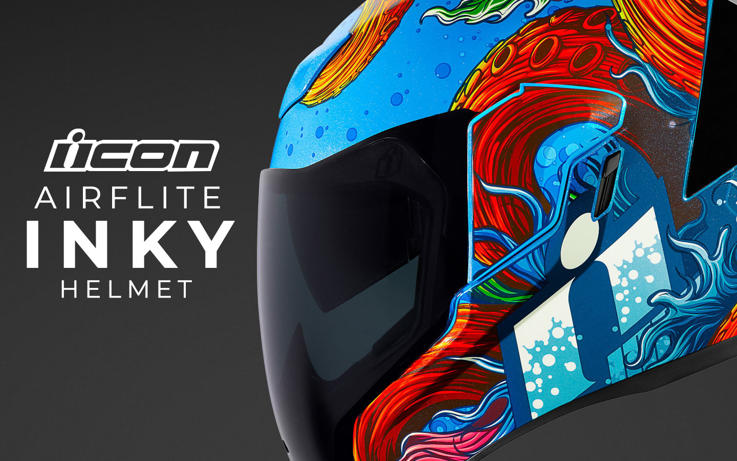 Icon Spring 2019 | Airflite Inky Motorcycle Helmet Collection