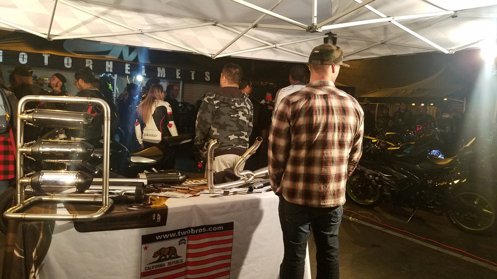 Motorhelmets Bike Night March 2018 TSR Rehab - Motorcycle Gear and Repair Center Orange County