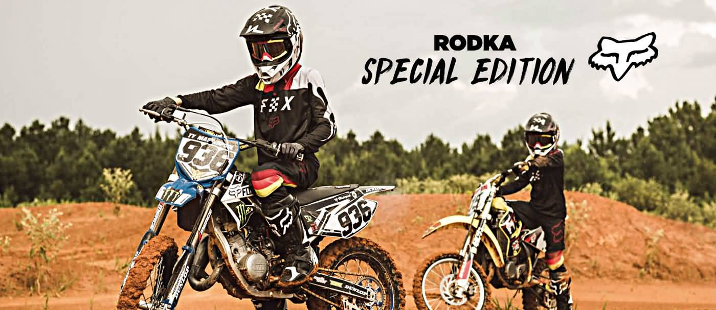 Fox Racing MX 2018 | Rodka Special Edition Racewear Collection
