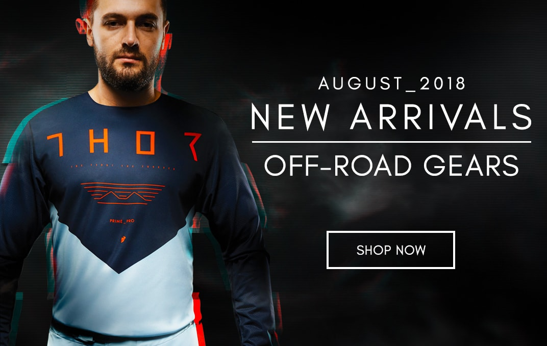 August 2018 Off-road Gear New Arrivals