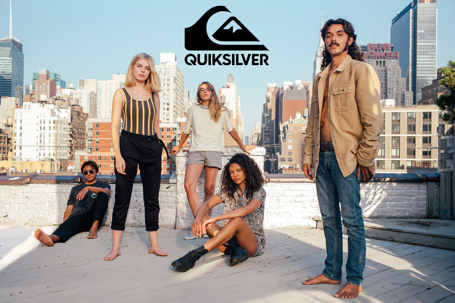 Quicksilver Spring-Summer 2019 | Womens New York Stories Apparel Collection