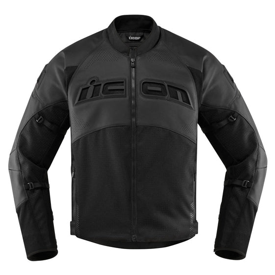 Icon Street Racing Contra 2 Leather Perforated