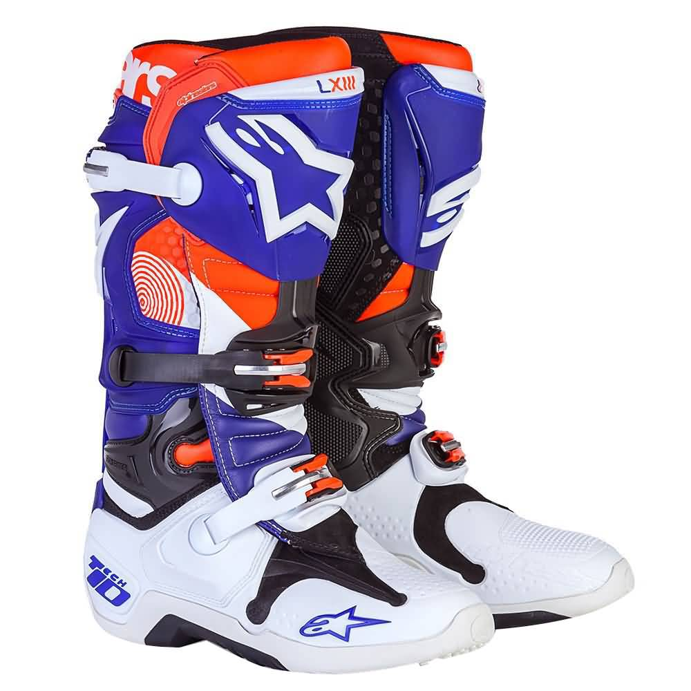 Alpinestars Motocross Gear | Limited Edition Indianapolis Tech 10 MX Boots