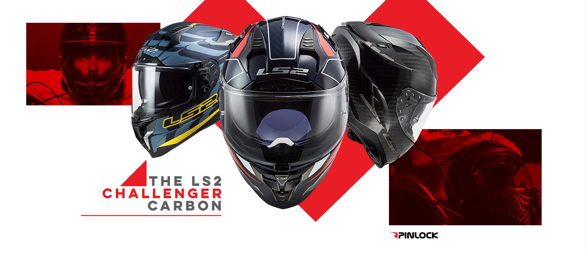 LS2 Motorcycle Helmets 2021 | Introducing The Challenger Carbon Street Collection
