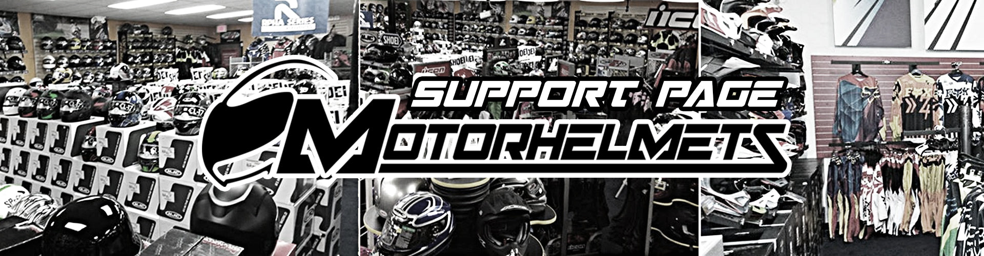 Motohelmets Support Page