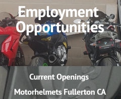 Motorhelmets Job Openings in Fullerton California - Career Opportunities