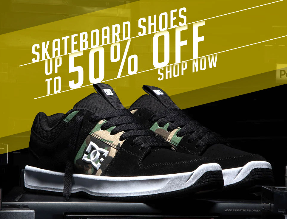 Skateboard Shoes Sale Up to 50% Off
