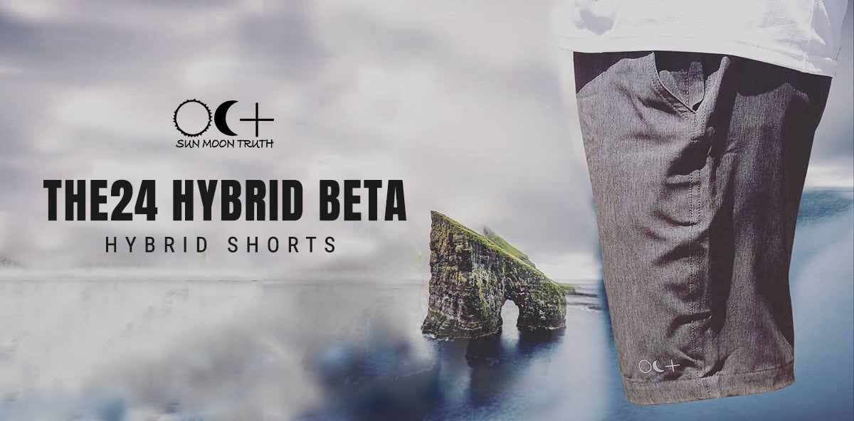 Sun Moon Truth | The24 Hybrid Beta Walkshorts
