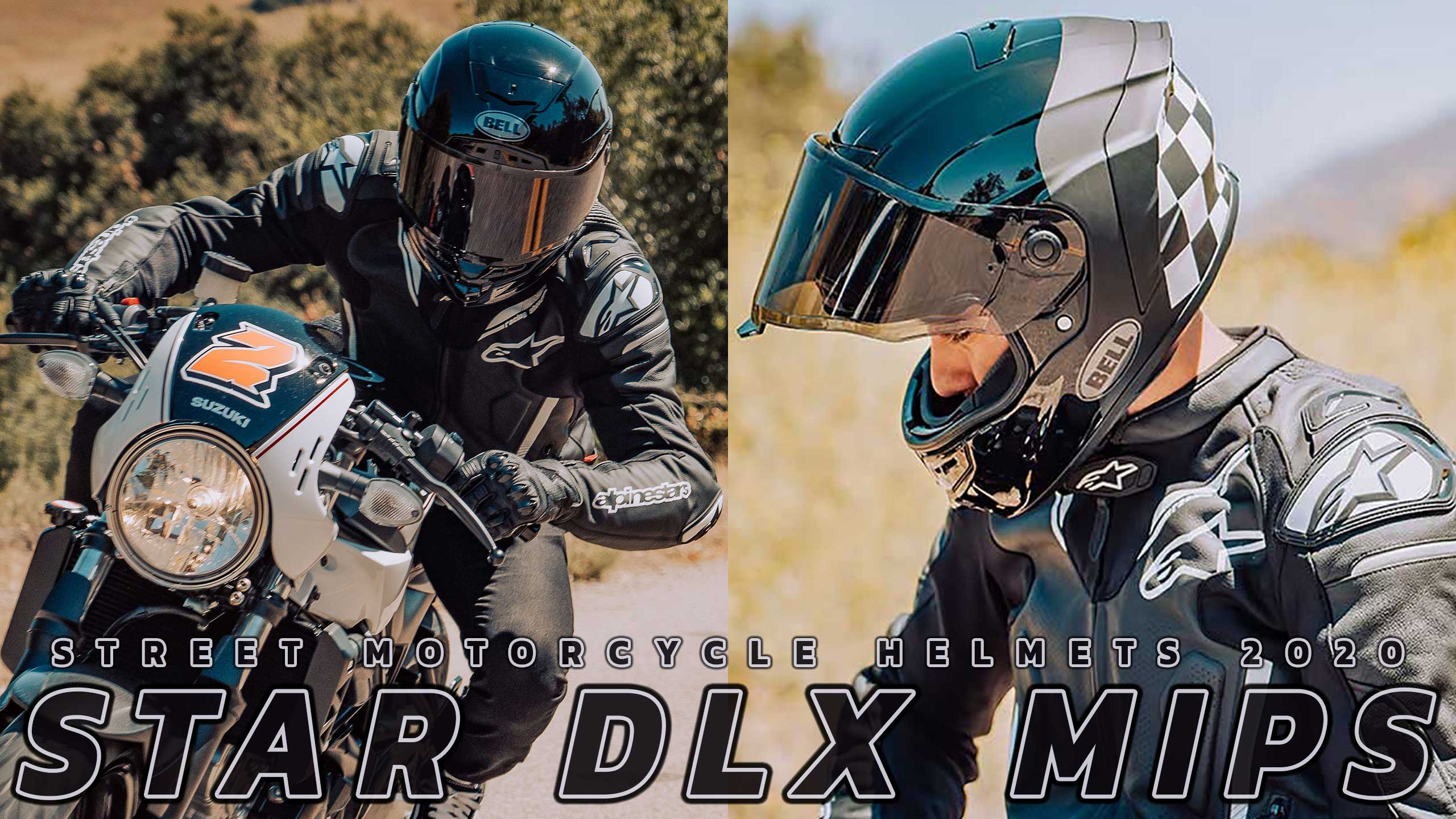 Bell Moto 2020 Introducing Star DLX MIPS Street Helmet Collections