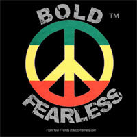 Bold and Fearless Sticker