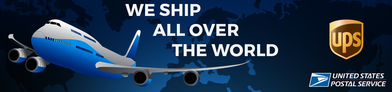 Worldwide Shipping Banner