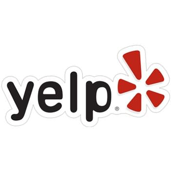 Yelp logo for yelp reviews.