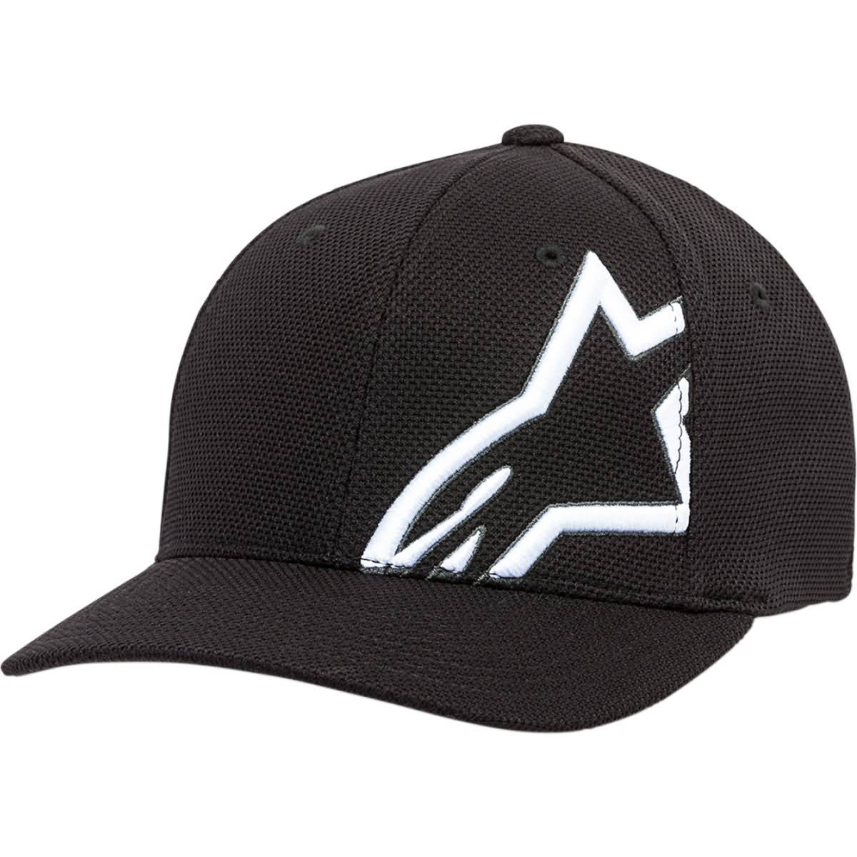 Alpinestars Corporate Stretch Mesh Men's Flexfit Hats-2501