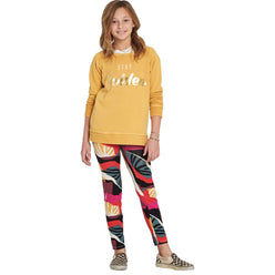 Billabong Leg Up Tie-Dye Legging Youth Girls Pants