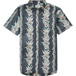 Billabong Sundays Floral Men's Button Up Short-Sleeve Shirts (BRAND NEW)