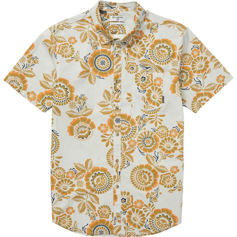 Billabong Sundays Floral Men's Button Up Short-Sleeve Shirts
