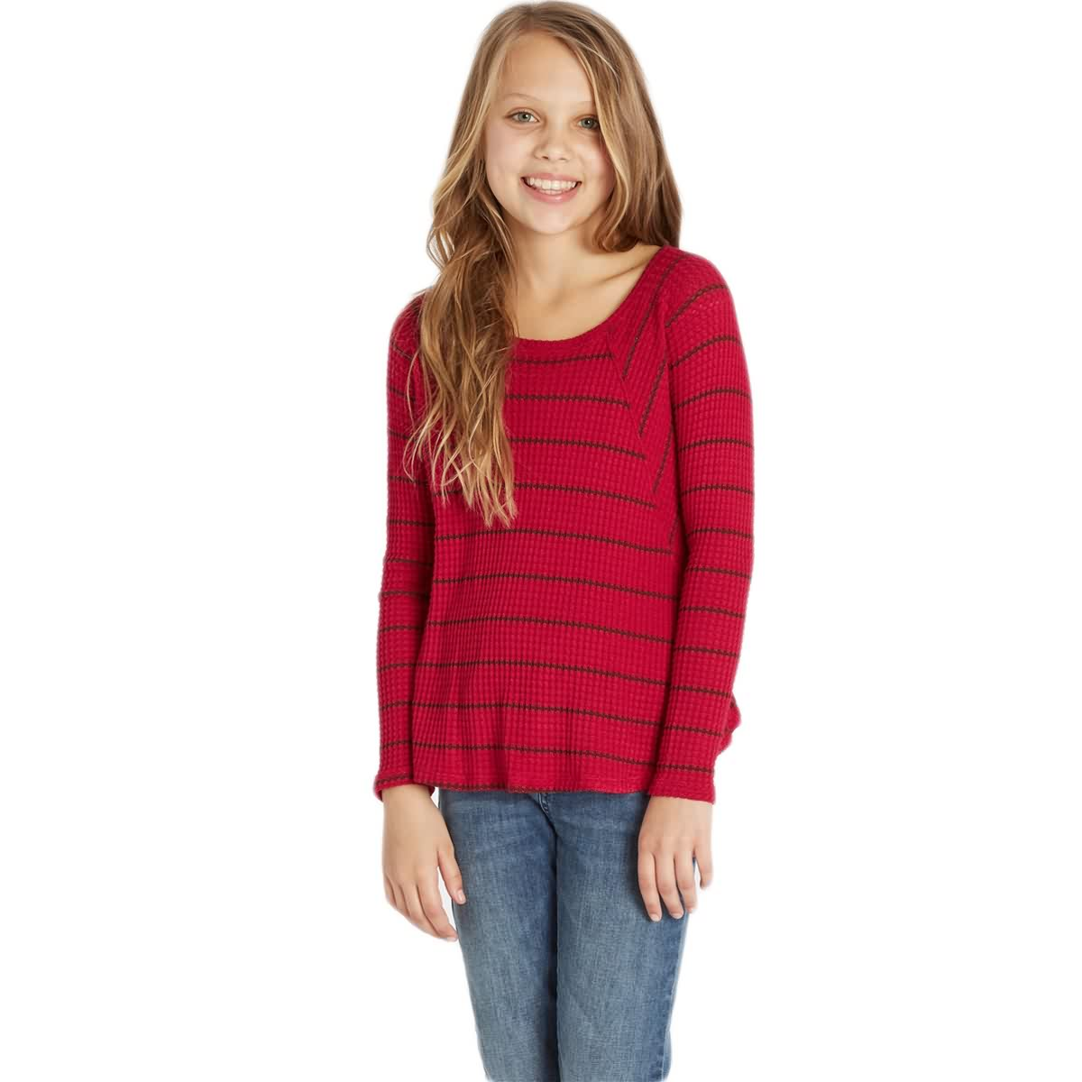 Billabong Roaming Free Youth Girls Long-Sleeve Shirts-G905HROA