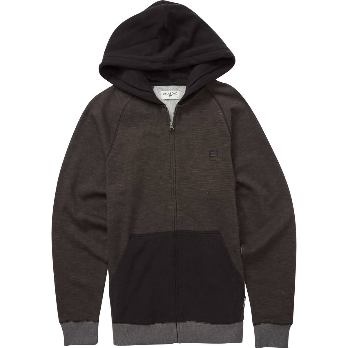 Billabong Balance Youth Boys Hoody Zip Sweatshirts-B665QBBZ