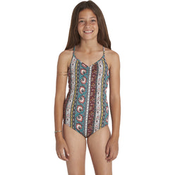 Billabong Hippy Ditsy Youth Girls One Piece Swimwear