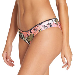 Billabong Wild Tropic Hawaii Reversible Lo Women's Bottom Swimwear
