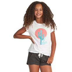 Billabong Desert Sky Youth Girls Short-Sleeve Shirts (USED LIKE NEW / LAST CALL SALE)