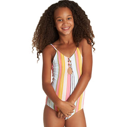 Billabong Sunny Song Youth Girls One Piece Swimwear
