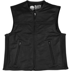 Black Brand Dagger Men's Cruiser Vests (BRAND NEW)