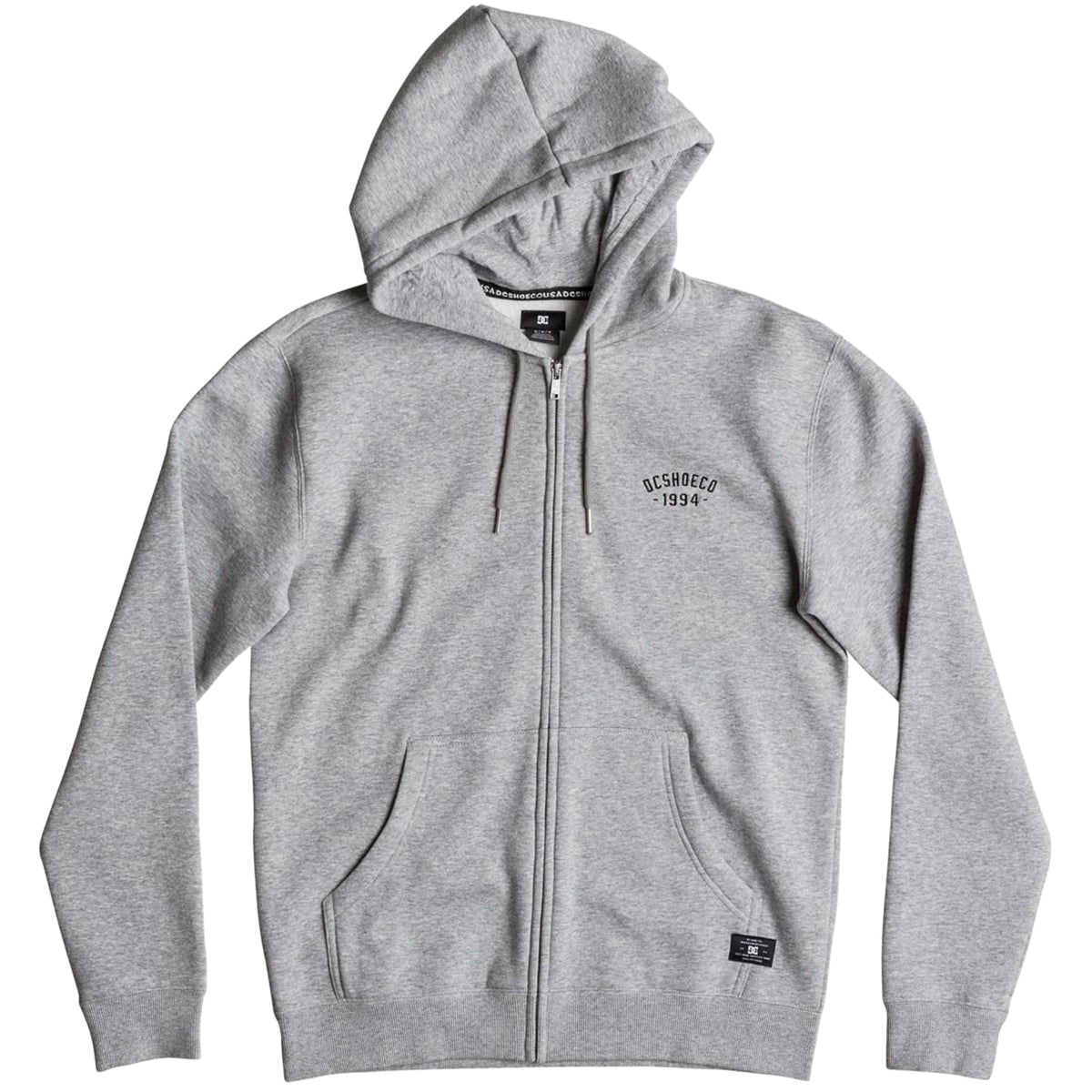 DC Ellis Fleece Men's Hoody Zip Sweatshirts-EDYFT03263