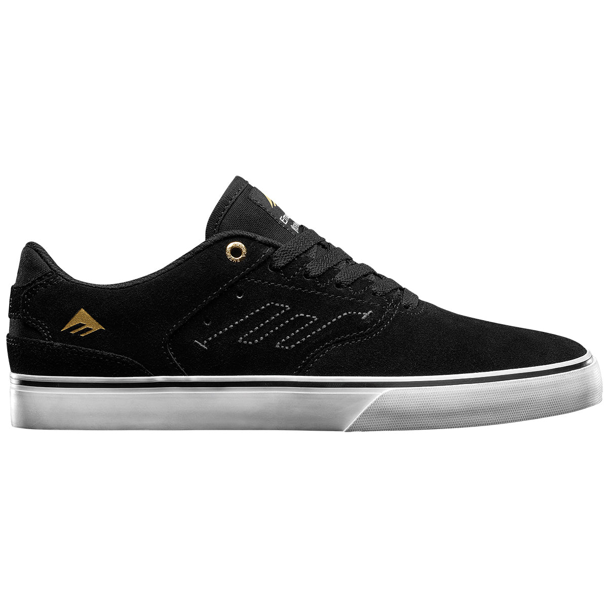 Emerica The Reynolds Low Vulc Men's Shoes Footwear - Black/White