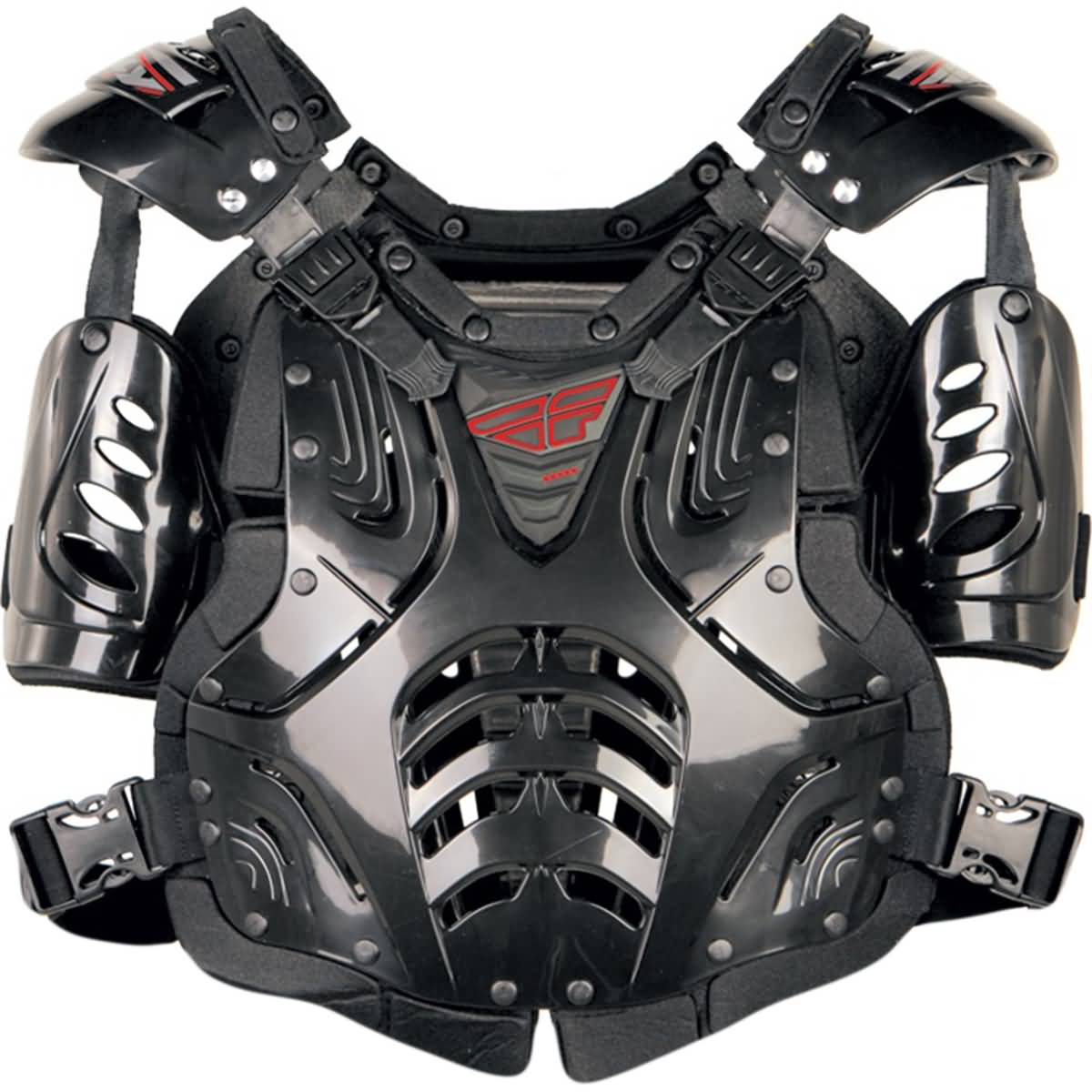 Fly Racing Convertible II Roost Guard Adult Off-Road Body Armor-36-16080