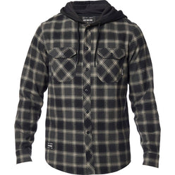 Fox Racing Avalon Hooded Flannel Men's Button Up Long-Sleeve Shirts